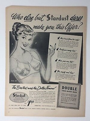 Merchandise & Memorabilia Original 1942 Print Ad Munsingwear Foundettes Girdle Bra Undergarments Art Colours Are Striking