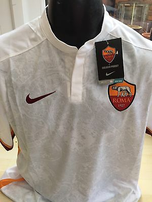 AS Roma 2015-2016 Away Shirt Jersey by Nike Size XL Italy Brand New