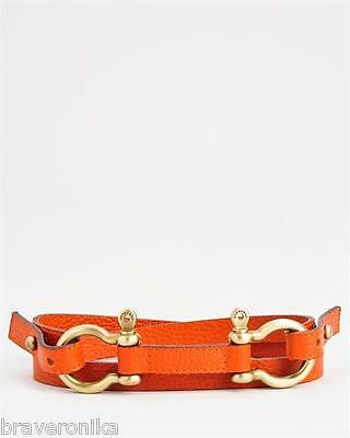 Burberry  Italy Genuine Leather Double Loop Belt Size 40. Retail $395. Brand New