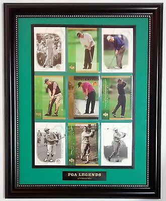 PGA LEGENDS New 11x14 Frame Plaque PGA Golf Memorabilia Nicklaus