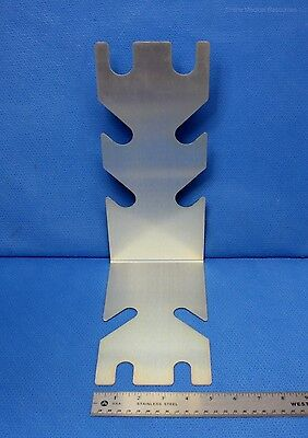 """Anesthesia Associates L-Shaped Breathing Tube Support 12"""" x 8.5"""" New"""