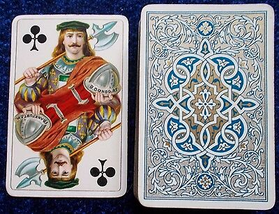ANTIQUE PLAYING CARDS  - B. DONDORF -  FRANKFURT  a/M  c.1890  -- 52 / 52