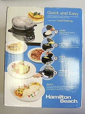 Hamilton Beach Breakfast Burrito Maker 25495 040094254958 NEW IN BOX