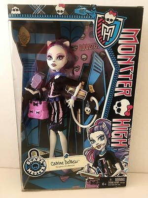 Monster High Doll Catrine DeMew Scaremester FACTORY Sealed MINT 2013 Gorgeous!