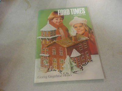 Amazing December 1979 ''Ford Times'' Magazine