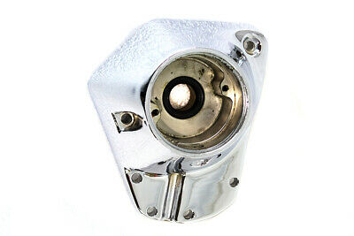V-Twin Cast Aluminum Natural 4 Four Finned Cam Cover 25216-58 Harley FL 1954-62