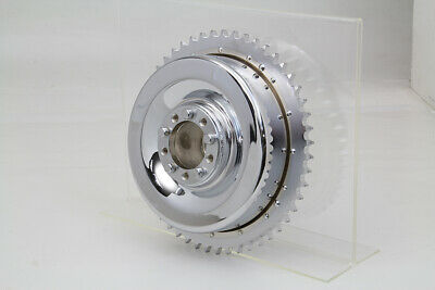 Mechanical Brake Drum Chrome,for Harley Davidson motorcycles,by V-Twin