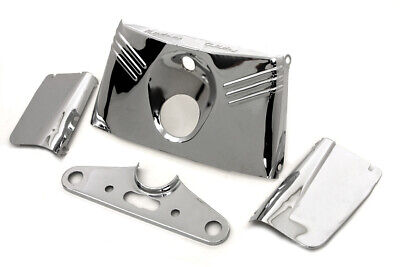 Triple Tree Cover Kit Chrome,for Harley Davidson motorcycles,by V-Twin