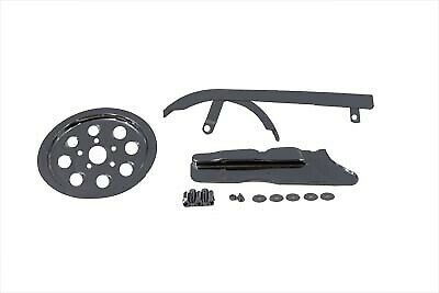 Chrome Belt Guard and Pulley Cover Kit fits Harley Davidson,V-Twin 27-0541