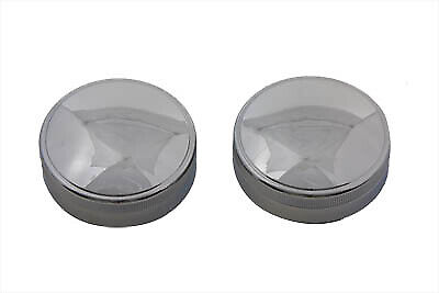 Replica Eaton Gas Cap Set Vented and Non-Vented fits Harley Davidson,V-Twin 3...