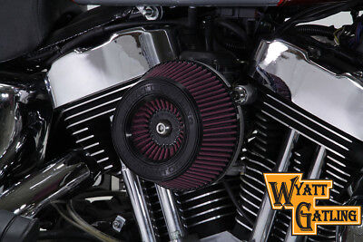 Wyatt Gatling Air Cleaner Assembly,for Harley Davidson motorcycles,by V-Twin