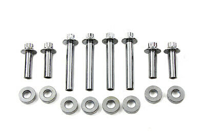 Head Bolt Set Chrome,for Harley Davidson motorcycles,by V-Twin