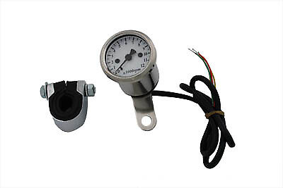Electronic 48mm Tachometer fits Harley Davidson,V-Twin 39-0438