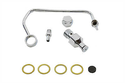 Fuel Petcock Shut-Off Rod Kit Chrome,for Harley Davidson motorcycles,by V-Twin