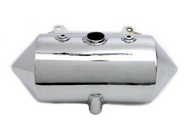 Rocket Oil Tank Chrome fits Harley Davidson,V-Twin 40-0486