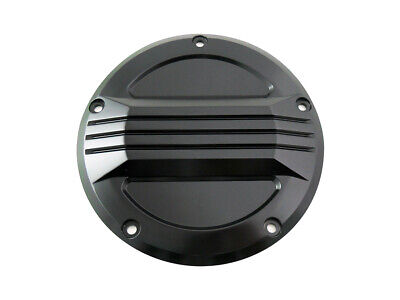 Black Air Flow Derby Cover,for Harley Davidson motorcycles,by V-Twin
