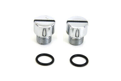Oil Pump Check and Relief Valve Plug Chrome,for Harley Davidson motorcycles,b...