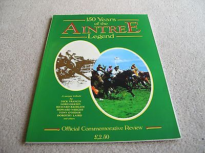 1988 150 Years of the Aintree Legend Official Commemorative Review publication