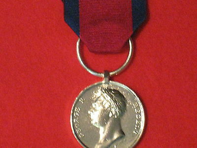 Full Size Waterloo Medal 1815 Museum Copy Medal With Ribbon.