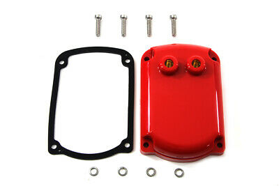 Red Magneto Top Cover fits Harley Davidson,V-Twin 32-1564