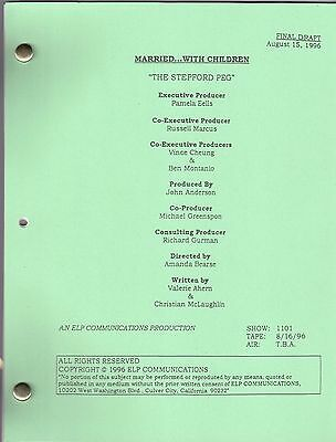 """MARRIED... WITH CHILDREN script """"The Stepford Peg"""""""