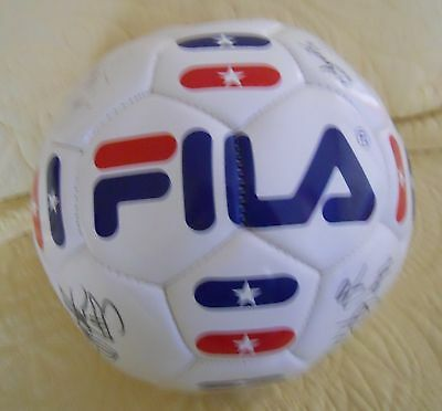 San Diego Sockers Team Signed Fila Soccer Ball W/brian Quinn +16 Other Autograph