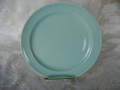 """Fantastic Luray Surf Green Luncheon Plate 9 1/4"""" Made in 1957"""