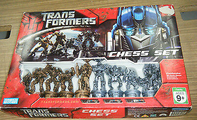 Boxed Hasbro 2007 Transformers Chess Set - Complete