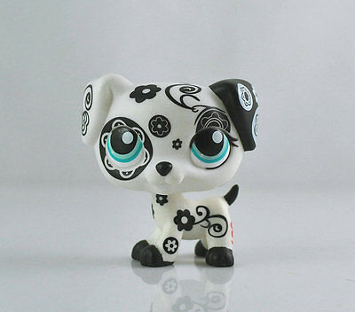 Littlest Pet Dalmatian Dog Collection Child Girl Boy Figure  Toy Loose LPS994