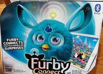 Furby Connect (Teal) doll Bluetooth NEW
