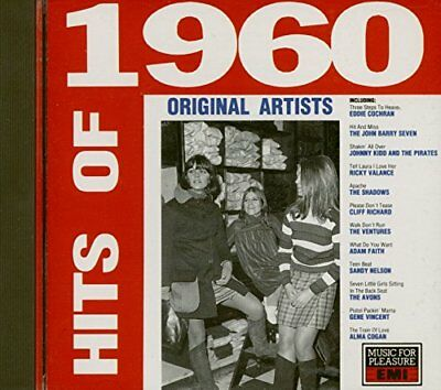 Various - Hits of 1960 - Various CD 8HVG The Cheap Fast Free Post The Cheap Fast