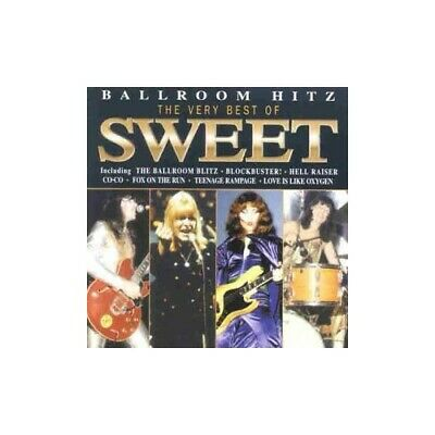 The Sweet - Ballroom Blitz-Best of Sweet - The Sweet CD 9BVG The Cheap Fast Free