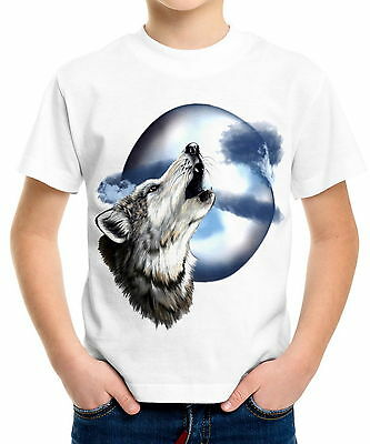 Mama Wolves And Their Cubs Boys Kid Youth T-Shirts Tee Age 3-13 ael40562