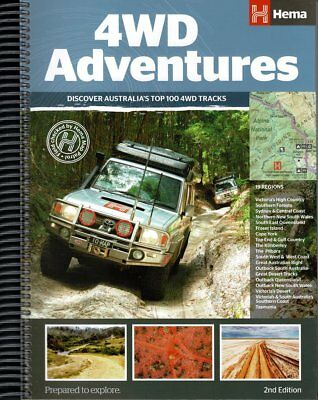 Hema Maps 4Wd Outback  Adventures Book - Guide - Touring - Camping - Hunting