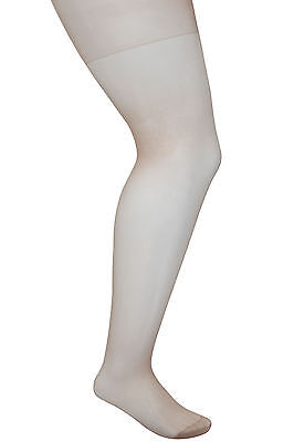 Plus Size Womens 3 Pack Natural 20 Denier Ladder Resist Tights - 3 Pack