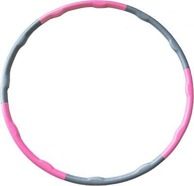 Andrew James Fitness Weighted Hula Hoop Exercise 1.2KG 100cm Foam Massage Ridges