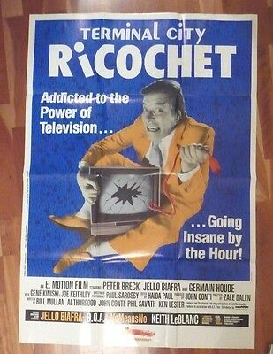 Terminal City Ricochet Large Film Poster Dead Kennedys