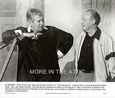 Peter Finch Original Behind The Scenes Bts The Abdication Film Still