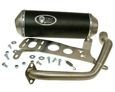 Exhaust Sport With E Characters Turbo Kit GMax 4T for Kymco Agility City 125