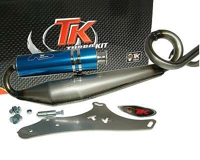 Exhaust Sport With E Characters Turbo Kit GMax Sport 4T for GY6 50ccm Retro