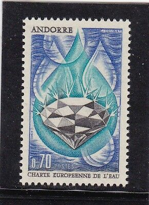 Andorra French #191 Mnh European Water Charter