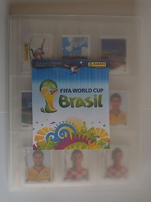 Panini 2014 (Brasil) World Cup Complete set of 640 stickers