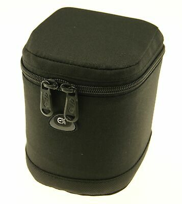 Ex-Pro Black Soft DSLR Camera Lens Bag Pouch Case Shock Protector 9 x 11cm