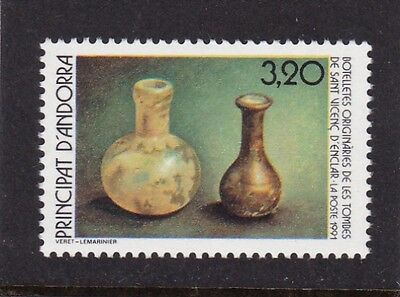 ANDORRA FRENCH #405 MNH BOTTLES FROM THE TOMBS OF ST. VINCENC d'ENCLAR