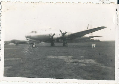 1940s WWII aircraft Photo 4 engine airplane