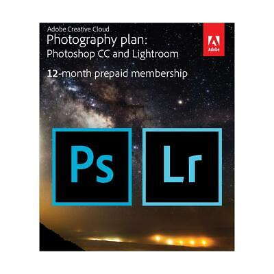 Adobe Creative Cloud with 20GB Cloud Storage - 12-Month Subscription, Key Card
