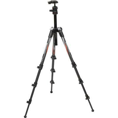 Manfrotto MKBFRC4-BH 3-section Carbon Fiber Befree Tripod with QR and Carry Bag
