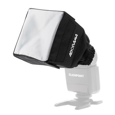 Flashpoint Mini SoftBox Diffuser for Shoe Mount Flashes #RS3500