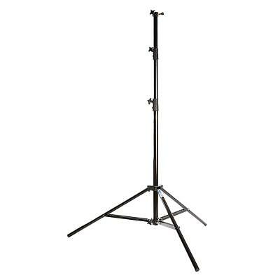 Savage 13ft 4-Section Air-Cushioned Light Stand, Black #LSB13AC