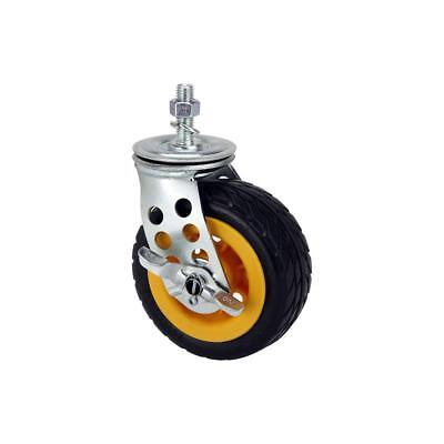 """Rock 'n' Roller 5x2"""" Ground Glider Wide Caster with Brake for R8RT/R10RT"""